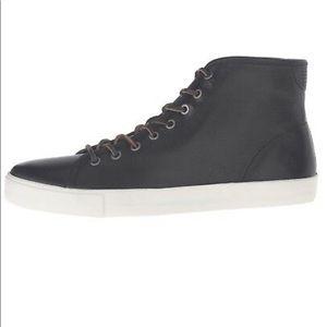 Frye Brett Black High sneaker Size 8